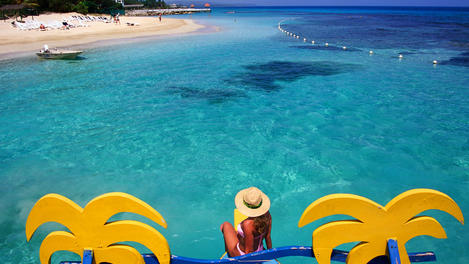 Praia Do Breezes hotel, Jamaica