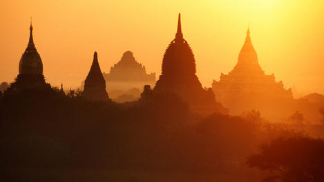 Sunrise, Myanmar