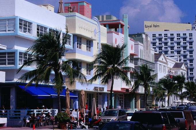 Ocean Drive at South Beach.