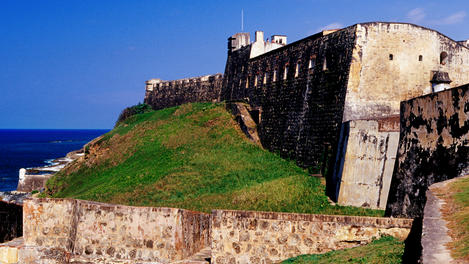 San Cristobal Fort &amp; city walls, Puerto Rico