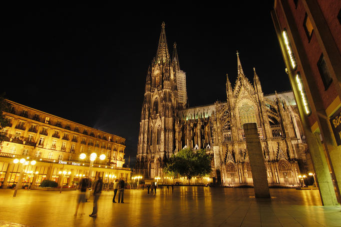 Cathedral of Cologne.