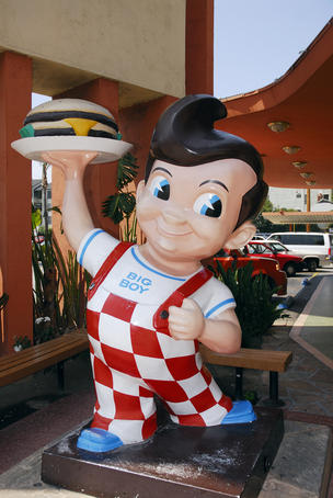 Bob's Big Boy hamburgers, Burbank.
