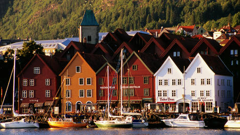 Vagen Harbour, Bergen