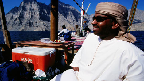 Dhow cruise, Oman