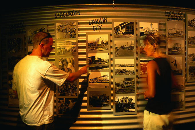 Cyclone Tracy display, Museum and Art Gallery of the Northern Territory - Darwin, Northern Territory