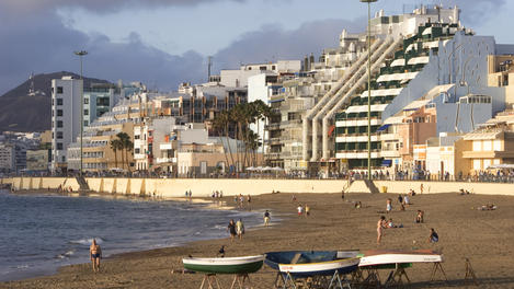 Las Canteras Beach, Canary Islands