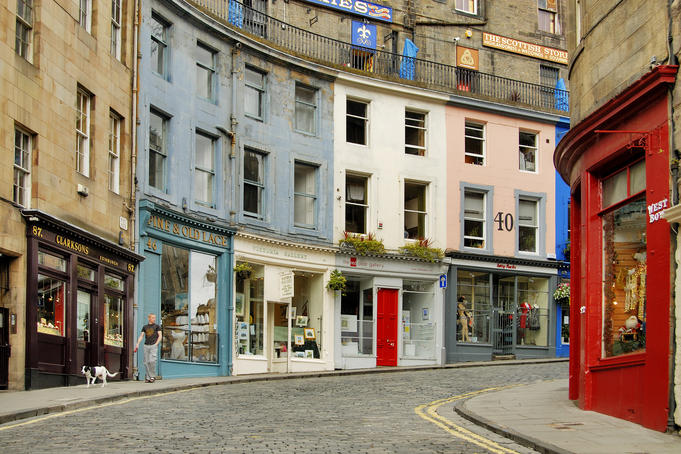 Edinburgh Grassmarket.