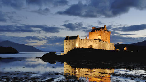 Eilean Donan, sle of Skye