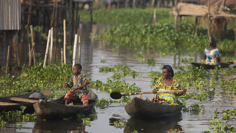 Lake Nokoue, Benin