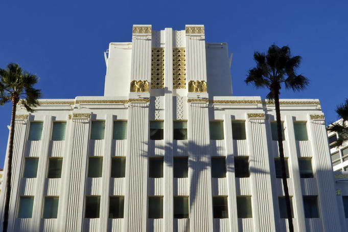 Art Deco Sterling Plaza (MGM Building).