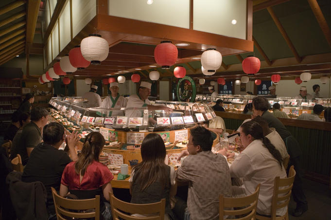Restaurant in San Francisco's Japantown.