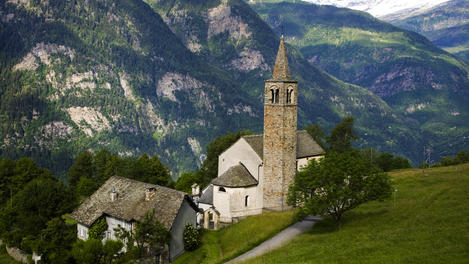 Parish church, Europe