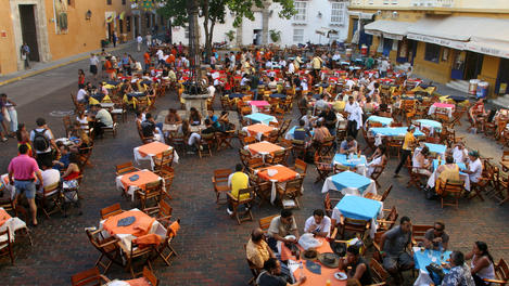 Plaza de Santa Domingo, Cartagena