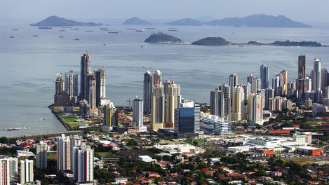 Pacific point and Paitilla point, Panama