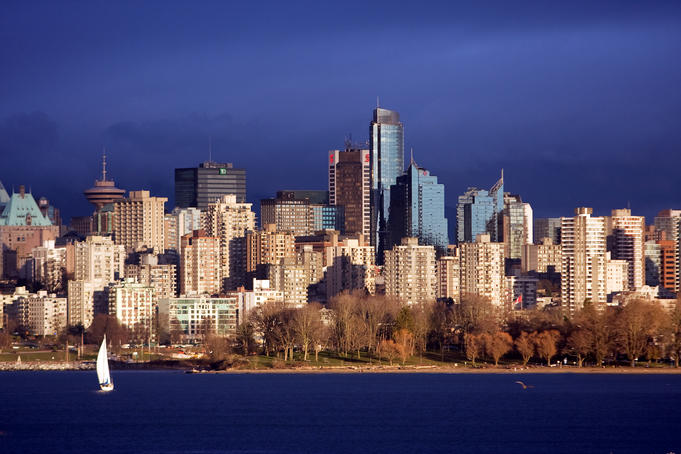 Vancouver's versatile skyline - doubling for countless destinations.