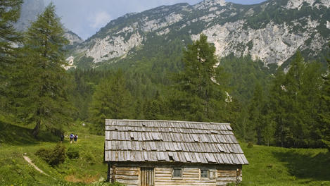 Mountain hut, Slovenia