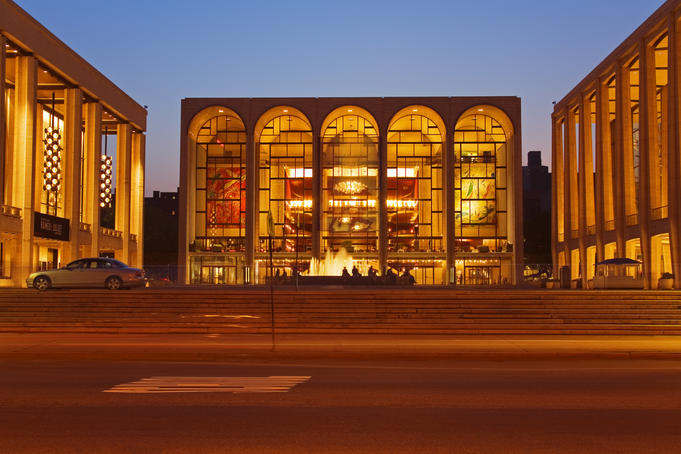Lincoln Center, Upper West Side, Manhattan.