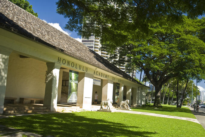 The Honolulu Academy Of Arts.