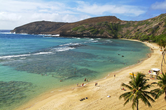 Hanauma Bay Nature Preserve.