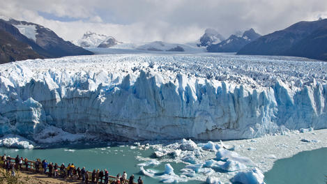 Glacier Perito Moreno, South America
