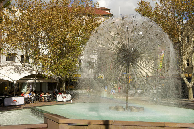 El Alamein Fountain, Kings Cross.