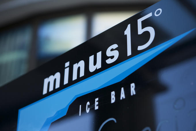 Minus 15 ice bar, Circular Quay.