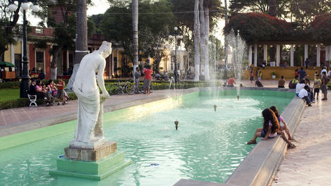Fountain, Barranco, Lima