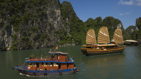 Boats, Halong Bay
