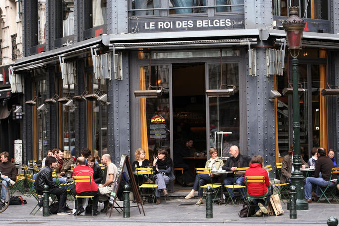 Bar Le Roi des Belges on Place St G