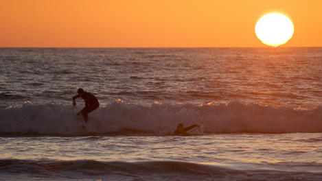 People surfing , San Diego
