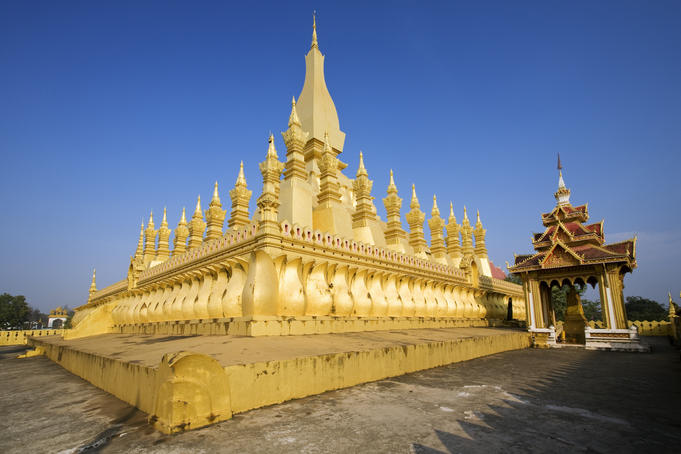 Pha That Luang (Great Sacred Reliquary).