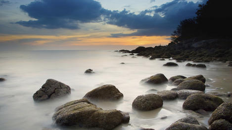 Karon Beach sunset, Phuket Province
