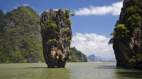 James Bond Island (Ko Phing Kan).