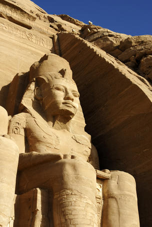 Colossus at Great Temple Of Ramesses II (aka Ramesses the Great).