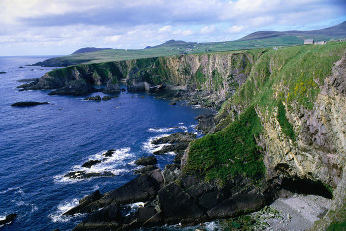 The rugged coastline of Dunquin - Dingle Peninsula, County Kerry