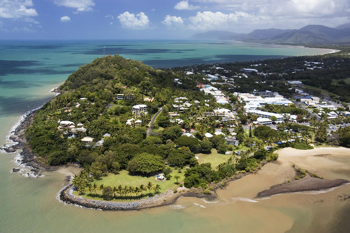 Aerial of Port Douglas.