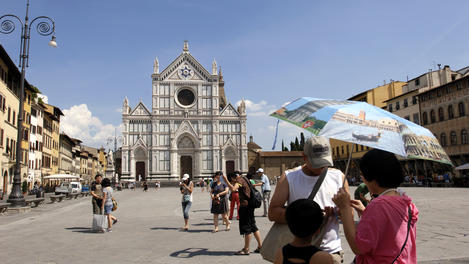 Santa Croce Square, Tuscany