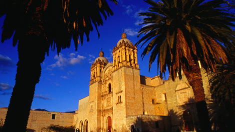 The Santo Domingo Church, Oaxaca