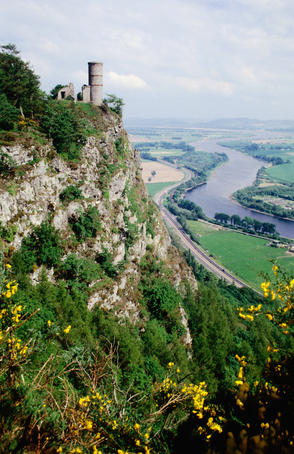 Countryside on Kinnoull Hill.