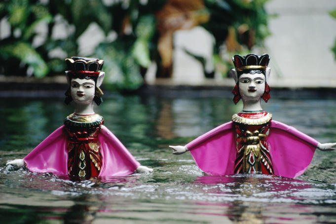Saigon water puppets.