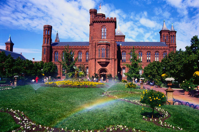 The Smithsonian Castle - Smithsonian Institution, Washington DC