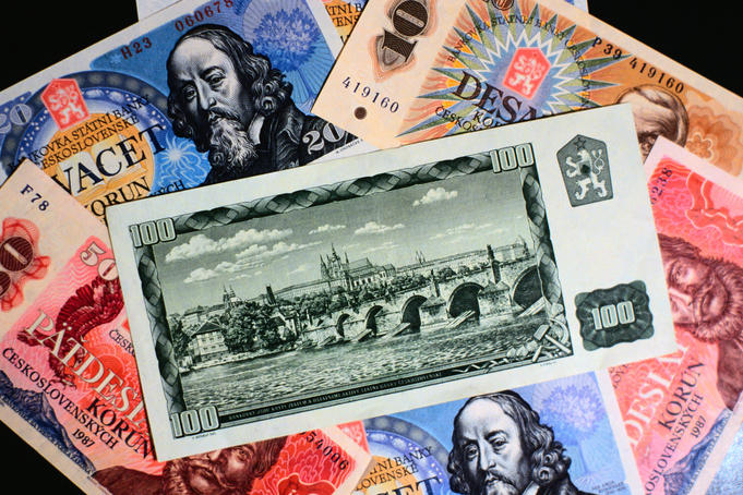 Paper money of Czech republic