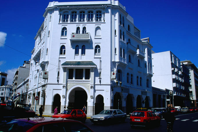 The city of Casablanca houses some huge displays of Art-Deco archives behind the most unpretentious of buildings