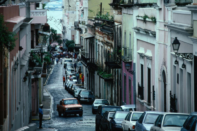 The old quarter of San Juan is rich in colourful Spanish Colonial architecture and blended with cobblestoned streets and ornate balconies strolling through this part of town is a joy
