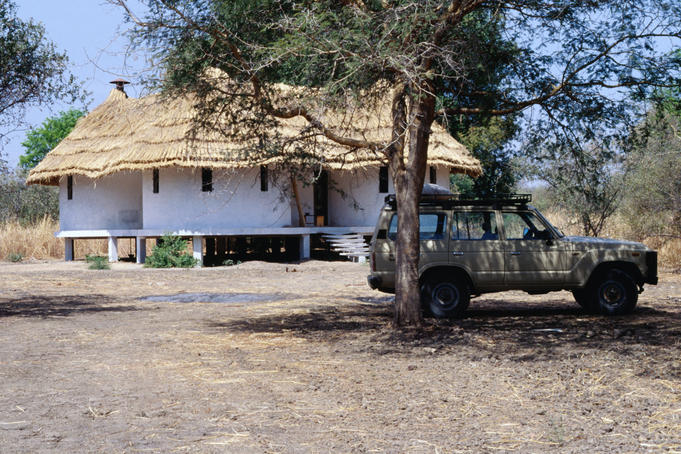 Building at Camp Tinga, Zakouma National Park.
