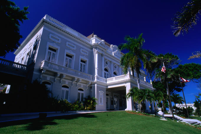 Once a place of debutantes and high society, the neoclassical El Casino is now part of Puerto Rico's Department of State