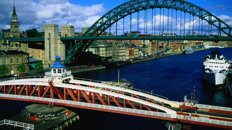 The Tyne and Swing Bridges, Newcastle