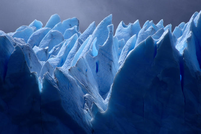 The astonishing glacier Perito Moreno in Santa Cruz. The glacier is classified a World Heritage Site.