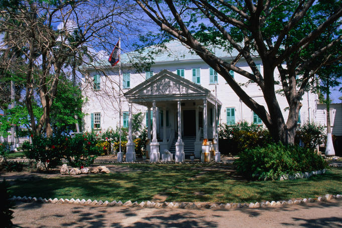 The Government House Museum, dating from 1814.