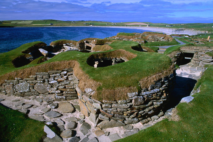 At 5,000 years old, Skara Brae is the best preserved prehistoric village in Northern Europe.